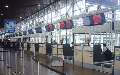 Scala Info Channel Takes Off at Santiago International Airport