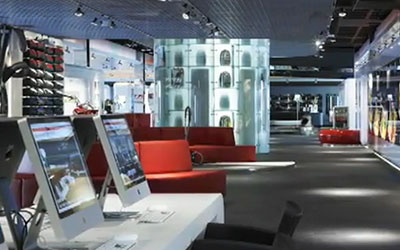 VIDEO: Beautiful Retail Digital Signage at the Miele Inspirience Centre