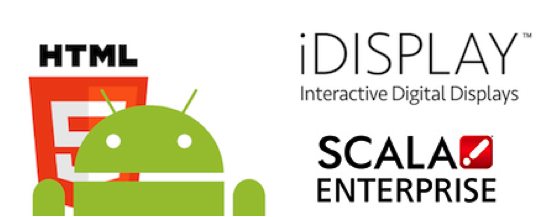 First Android player from Outform's iDISPLAY product range is running Scala Enterprise