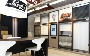 Luxaflex Digital Signage Retail