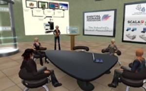 university school digital display