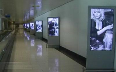 Larnaca International Airport Implements Eye-Catching Digital Signage