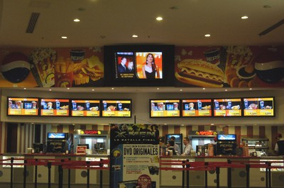 cinema digital signage