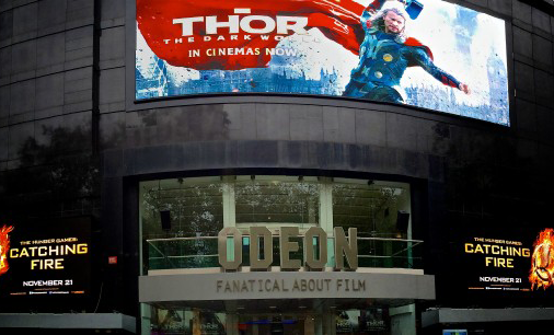 VIDEO – Odeon Leicester Square – One of the largest digital displays