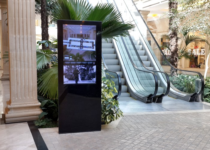 Scala drives retail wayfinding in Moscow for Crocus Group