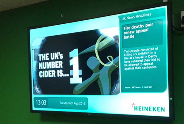 Effective Digital Corporate Communication at Heineken