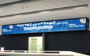 Manchester Central Digital Signage