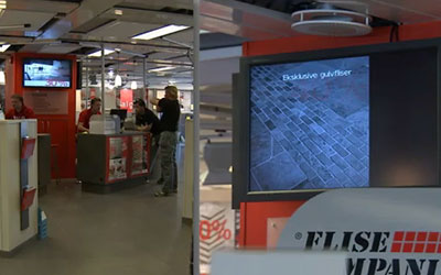 VIDEO: Scandanavian Digital Signage