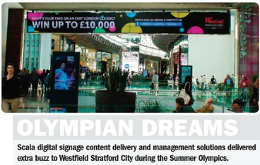 Olympian Dreams, Scala Content Delivery and Management Solutions – ScreenMedia Magazine