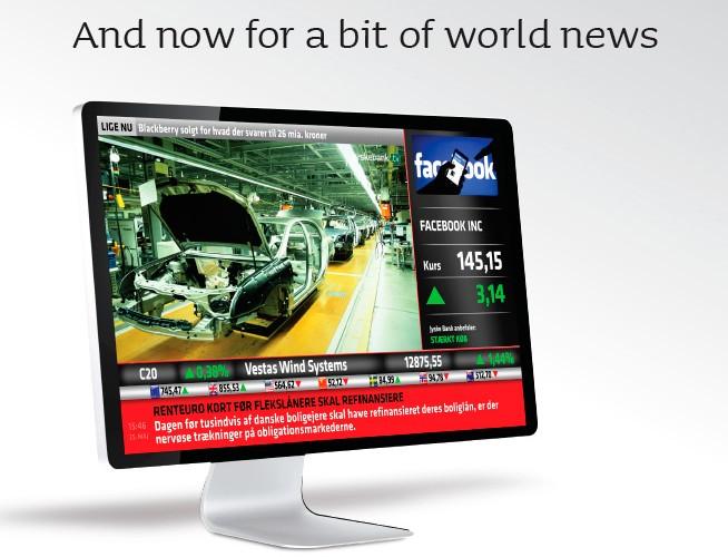 Jyske Bank uses Scala to deliver award winning TV