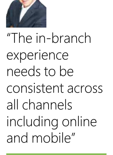Integrating digital signage solutions with mobile for personalized service in branch – Finance on Windows