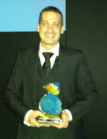 Scala and its partners recognized for Digital Signage excellence at The DailyDOOH Gala Awards – 2013