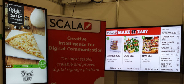 Digital Interaction at the Take Away Expo in London