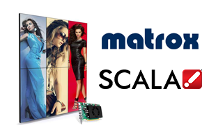 Matrox C680 Multi-display Graphics Card Certified by Scala