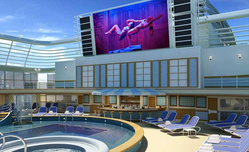 narrowcasting-entertainment-cruiseship-zwembad