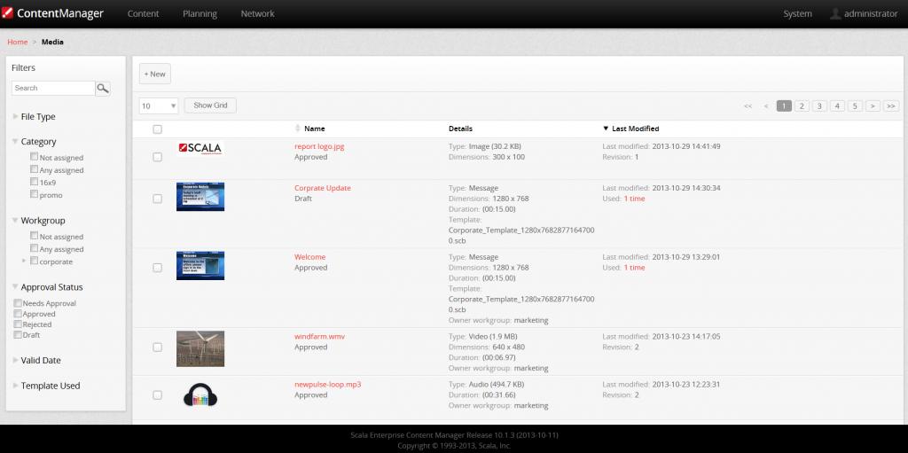 Scala Content Manager For Digital Signage | SignActive – SignActive ...