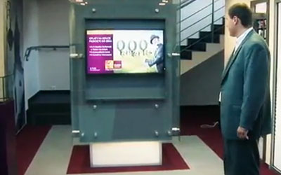 VIDEO: High-End Digital Signage at Alior Bank