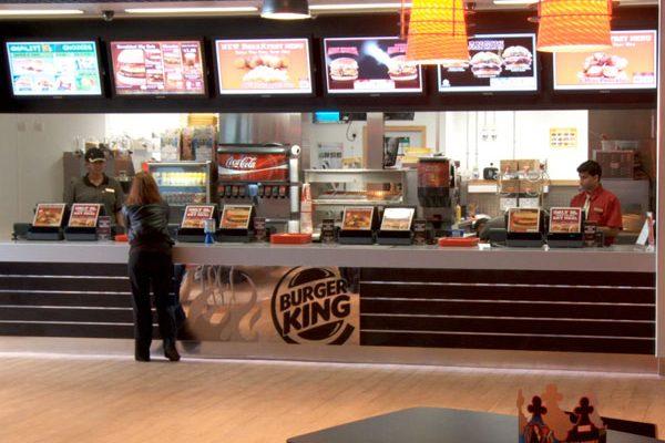 Burger King Digital Signage