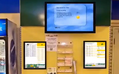 VIDEO: Rikstoto Maximizes Benefit of Digital Signage
