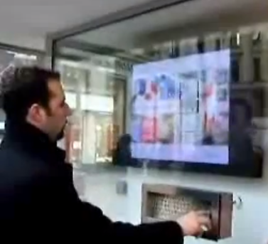T-Mobile Touch-Screen Retail Digital Signage