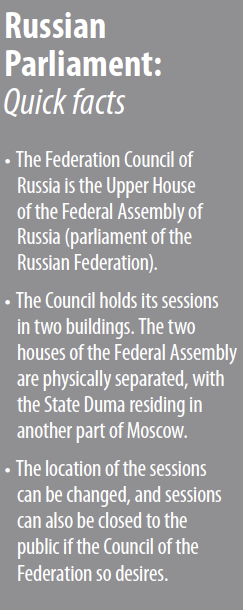 Digital Signage Reduces Operational Costs for Federation Council of Russia