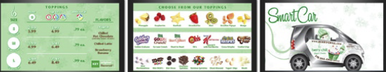 The Berry Chill digital menu system was an ideal project for IDS