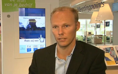 VIDEO: Amsterdam's Chamber of Commerce Digital Media Network