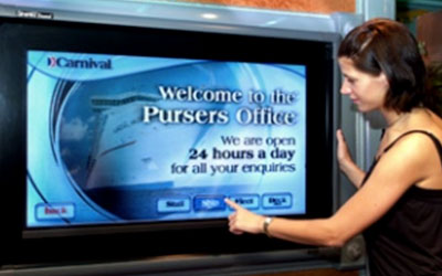 VIDEO: Carnival Cruise Lines Digital Signage