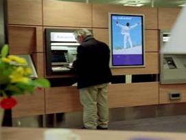 banking digital signage