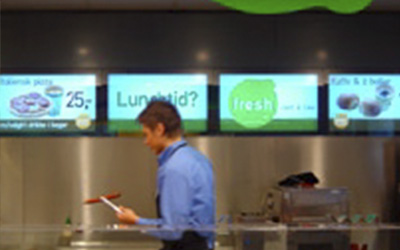 NorgesGruppen Menuboards at Shell