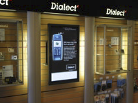 It was therefore no surprise that Dialect, Sweden's largest chain in that industry, recently selected Scala InfoChannel® to drive its new dynamic sign network.