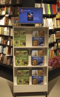 The in-store signs and displays are being supplemented with a digital signage network that opens up new possibilities for communicating with employees and customers alike.