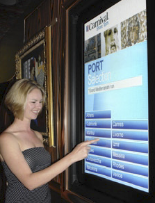 "Carnival, recognizing the need to deliver information to their guests quickly and effectively, decided to look toward Digital Signage, and the huge possibilities and potential that this form of communication held in enhancing guests' ""Fun Ship"" vacation."