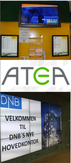 ATEA digital screens