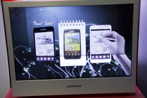 Samsung Transparent LCD Display Box