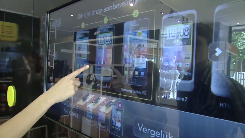Retail Phone Shop SmartSpot – Interactive Shopping