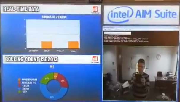 Audience Recognition and Measurement Intel AIM ISE2013