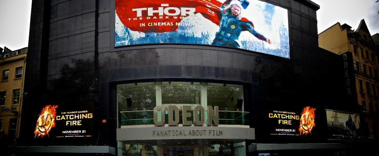 Giant 107 square metre videowall launched at Odeon Leicester Square