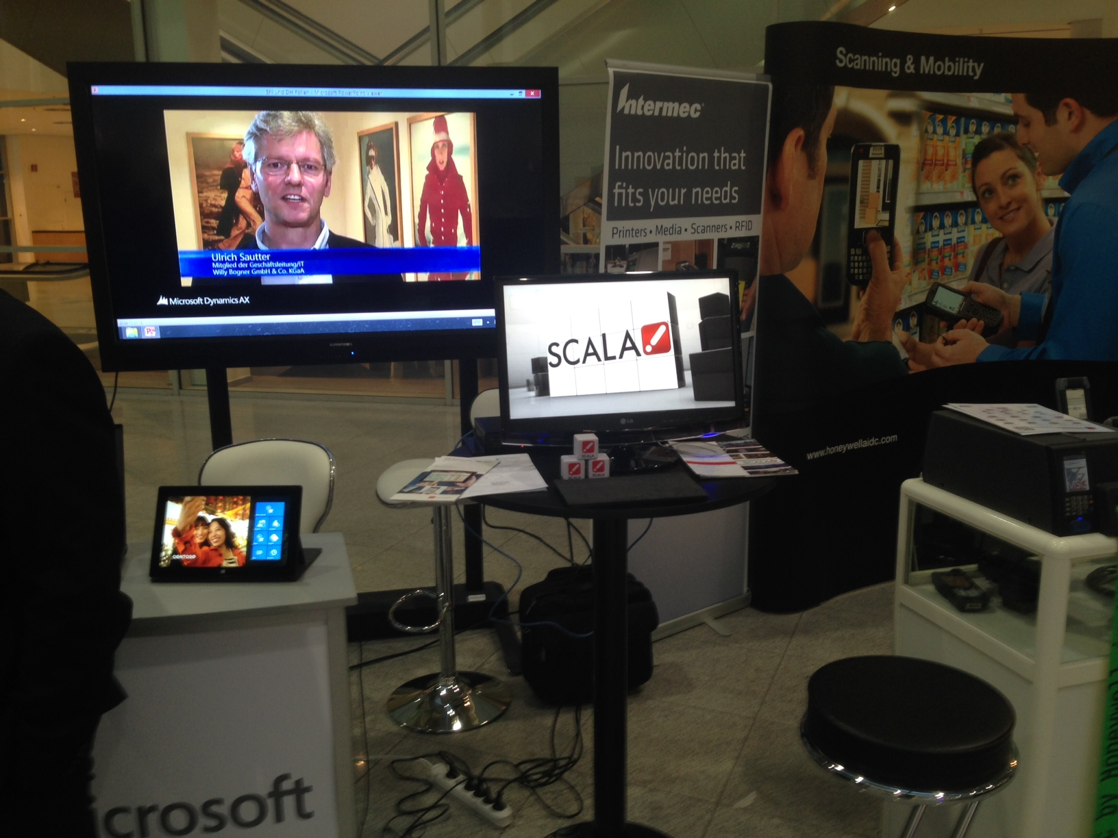 Scala with Microsoft at EHI Technology Days, Germany