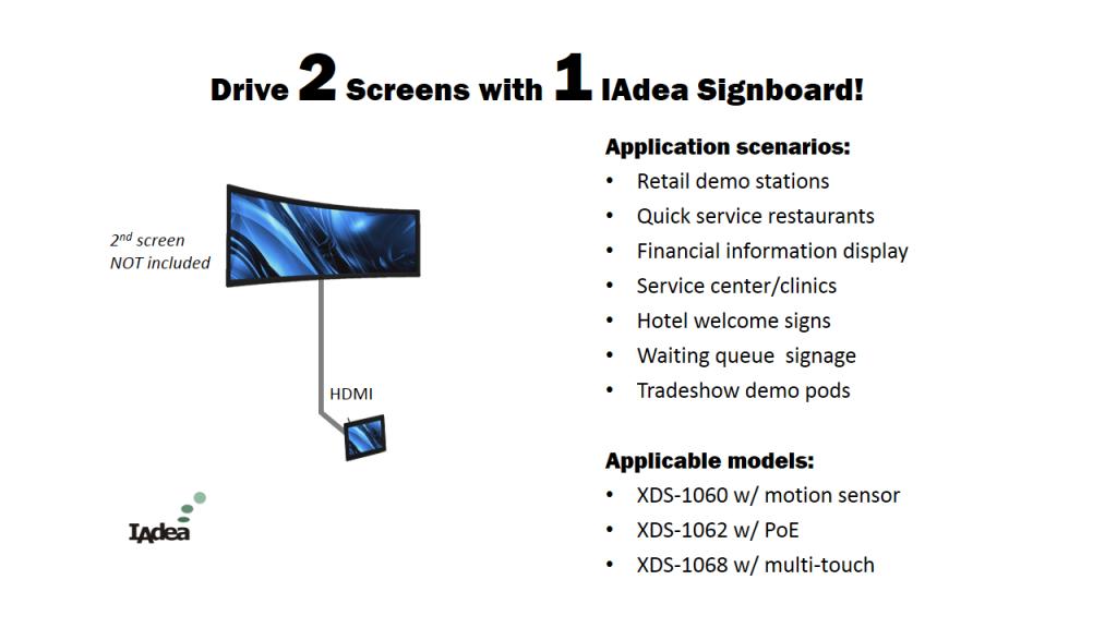 iBase Dual Display