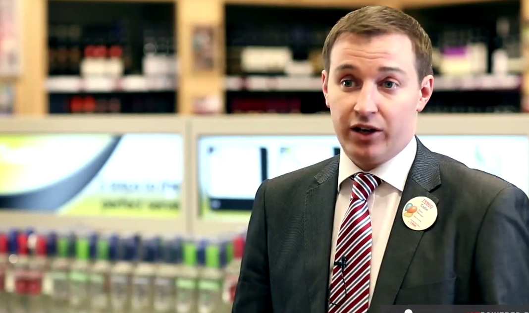 [VIDEO] Engaging Shopping Experience at Tesco Off License
