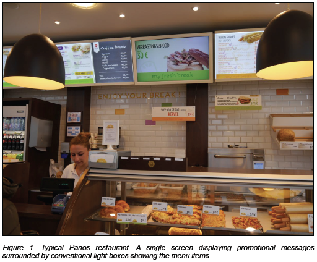 Digital Signage at Panos Restaurant Optimized with Scala Advanced Analytics