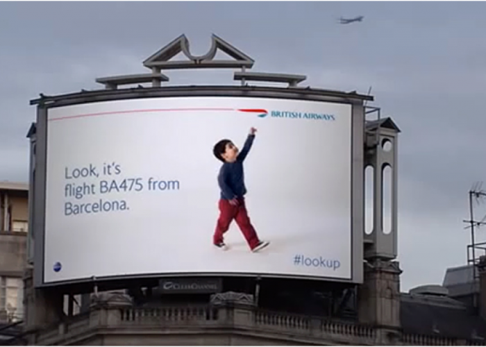 Scala powers Jyskebank British Airways Ad