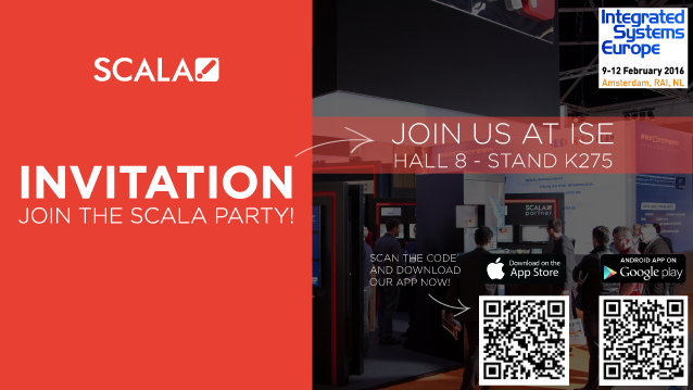 Scala ISE 2016 Stand Party