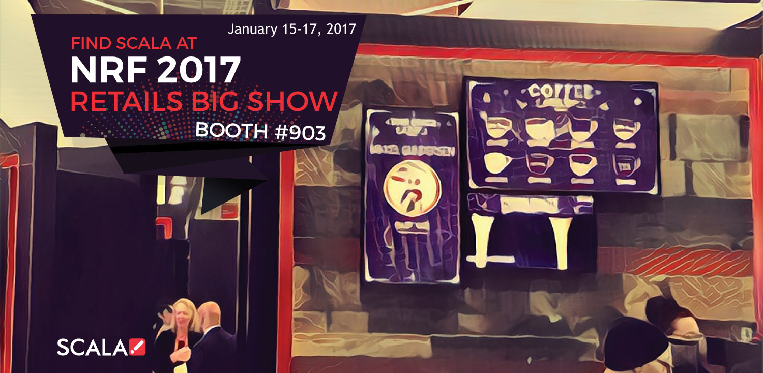 NRF 2017 Retail&#8217;s Big Show &#8211; January 15-17, 2017<br>Booth #903