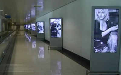 Larnaca International Airport Implements Eye-Catching Digital Signage