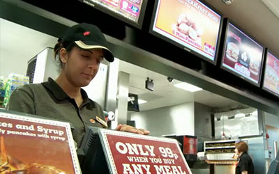 VIDEO: Digital Menu Boards – Burger King