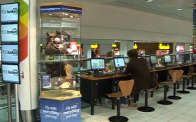 VIDEO: Spectrum Interactive Airport Media Screens