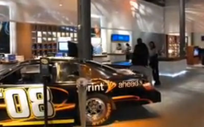 VIDEO: Digital Signage Project for Sprint Studio Store