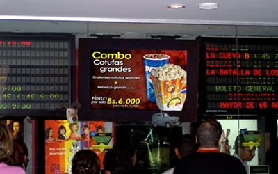 Cines Unidos Movie Theatre